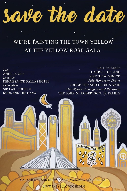 Yellow Rose Gala - 2019